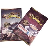 Plastic Side Gusset Coffee Bean Bags , Aluminium Foil Pouches With Strong