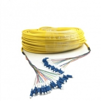 China CPRI Tactical Fiber Optic Cable 144cores With SC/APC Connector wholesale