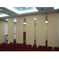 China Good Sound Insulation Office Sliding Partition Walls , Aluminium Frame Movable Room Dividers wholesale