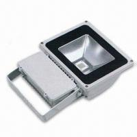 China 70W LED Floodlight, 85 to 265V AC Voltage, Non-dimmable, CE Certified, RoHS Directive-compliant wholesale