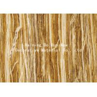 China Woods Foil Wallpaper Feeling Wood Grain Film wholesale