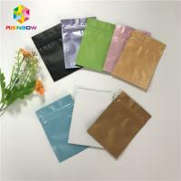 China Heat Seal Stand Up Pouch Packaging Custom Printed Aluminum Foil Vacuum Packing Bags wholesale