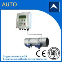 Quality Output 4-20mA Non-invasive Water Ultrasonic Flow Meter/Insertion Water Flowmeter for sale
