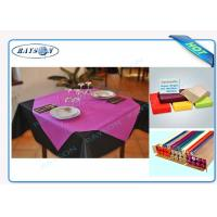 Slices / Rolls Packed Non Woven Polypropylene Tablecloth for Catering Business