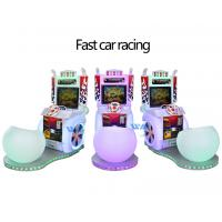 China Video Racing Game For Kids 17 Inch Coin Operated Arcade Machines wholesale