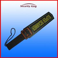 China Body Scan Portable Metal Detector , Airport Security Check Hand Wand Scanner on sale