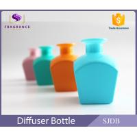 China 100ml Clear Square Glass Diffuser Bottle Reed with Screw Cap wholesale