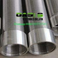 China 316L stainless steel wire wrapped water well screens for water well drilling wholesale