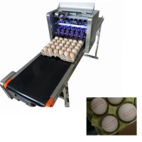 China Electric Egg Stamping Machine600 DPI High Resolution With 1 - 4 Printing Lines wholesale