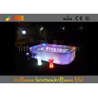 China Waterproof PL15 LED bars & bar table , Glowing bar furniture wholesale