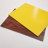 Buy cheap 3mm,5mm,6mm Thick Wood Grain Aluminum Composite Panel For Indoor Outdoor from wholesalers