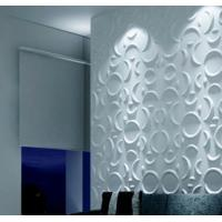 China Custom 3D Wall Panel Sterilizing 3D  Background Wall for Living Room / Bedroom wholesale