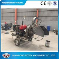China CE Approved Small Output Mobile Diesel Engine Wood Disc Chipper in Forest wholesale
