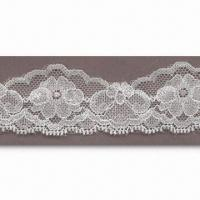 China Women's Lace Trim with Fashionsble Design, Suitable for Garments and Bags wholesale