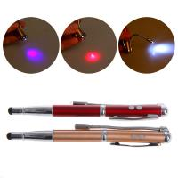 China Clip Design 4 In 1 Laser Pointer Pen Compatible With Touch Screen Devices wholesale