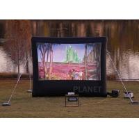 China Commercial Inflatable Movie Screen 210 D Reinforced Oxford Material wholesale