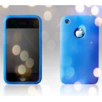 China Customed Tear Resistant Blue High Temperature Silicon Cell Phone Covers wholesale
