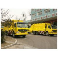 China Waste Disposal Trucks Sinotruk Howo 16 CBM 6X4 for street cleaning wholesale