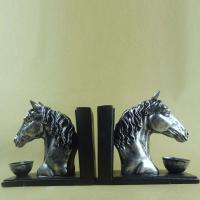 China Polyresin Book End/ Horse head Book ends on sale