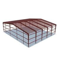 Buy cheap Low Costs Prefab Workshop Steel Structure Buildings Steel Truss Main Frame from wholesalers