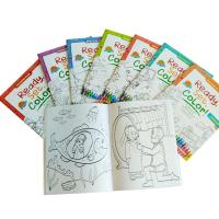 China Children Coloring Book Personalised Stationery Gifts A4 / A5 Size Matt Lamination wholesale