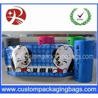 China Customized Logo Printed Plastic Ziplock Bags Safety Food Grade For Pet Food on sale