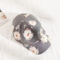 Buy cheap Snapback Women Floral Pattern Sublimation Baseball Cap from wholesalers