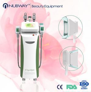 China Hot sale most advanced 5 handles cryolipolysis machine/cryotherapy fat freezing device wholesale