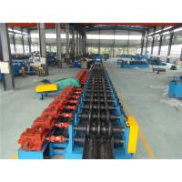 China Three Waves Guardrail Roll Forming Machine with Conveyor Table Hydraulic Decoiler wholesale