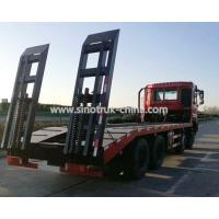China 12 Wheels Flatbed Tow Truck Wreckers / Heavy Duty Commercial Trucks With Platfrom wholesale