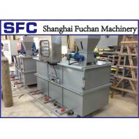 China Powder / Liquid Flocculant Polymer Preparation Unit Station For Sludge Treatment wholesale