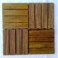 Quality DIY Bamboo Decking Tiles for sale