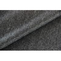 China Brushed Twill Construction Worsted Wool Fabric , Grey Strong Twilled Fabric wholesale