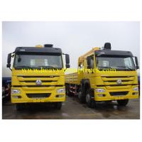 China Truck Mounted Mobile Crane Sinotruk HOWO 6X4 10 tons with HW76 cabin wholesale