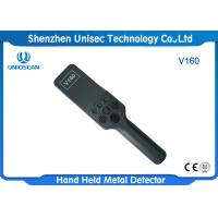 China V160 Hand Held Metal Detector Body Scanner High Sensitivity For Electronic Factory on sale