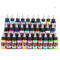 Buy cheap Rainbrow Colors Simple Set Half oz Vegan Tattoo Ink fit for beginners Easy to from wholesalers
