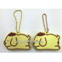China Silicone Key Cover high quality custom 3D soft PVC key chain silicone key rings holder wholesale