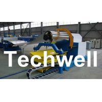China 10 Ton Hydraulic Uncoiler Curving Machine With Coil Car With Coil Width 1500mm wholesale