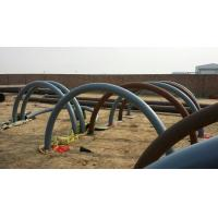 China 180 Degree Seamless Carbon Steel Tube Bends With Flange Connection wholesale