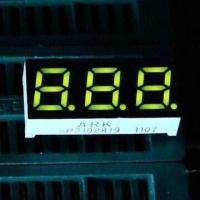China 0.28-inch 7 Segment LED Display with 3 Digits for Temperature, Air Conditioner Controllers wholesale