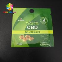 China Child Proof Plastic Pouches Packaging Resealable Ziplock Mylar Bag CBD Hemp Weed Package wholesale