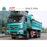 China HOWO 6x4 Tipper Truck , 10 Wheeler Dump Truck 20 CBM Perfect Suspension Systems wholesale