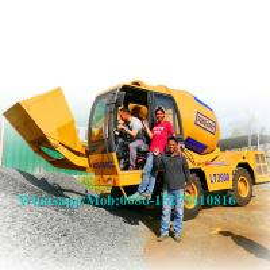 China Easy Control Concrete Construction Equipment Concrete Mixer Vehicle With 30% Gradient SW3500 wholesale