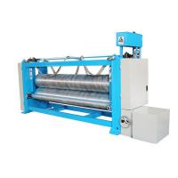 China Two Roller 3.5m Fabric Calender Machine , Textile Rolling Machine For Nonwoven on sale