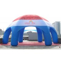 Quality Big Customized Inflatable Spider Dome Tent with CE blower for sale