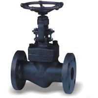 China 2 Inch Forged Steel Valves , OS&Y Flanged Solid Wedge Gate Valve wholesale