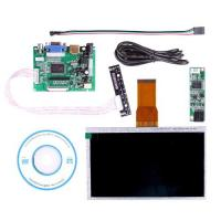Quality 7 Inch  Touch Screen tft lcd panel  For Raspberry Pi  Driver Board HDMI VGA 2AV for sale