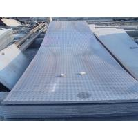 China Custom cut 914 - 1500mm GB, Q235, Q345, DIN1623 Hot Rolled Checkered Steel Plate / Sheets wholesale