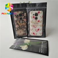 China Thickness Customized Plastic Pouches Packaging 1.6 x 8cm For Mobile Cable wholesale