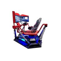 China 3 Screen 9D Virtual Reality Race Car Driving Simulator For Indoor Amusement on sale
